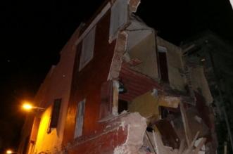 Vents forts: effondrement partiel de deux maisons à Casablanca