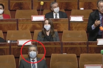 Après son retour au bercail, Hamid Chabat sous l'Hémicycle