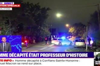 Enseignant décapité en France: deux collégiens déférés devant le juge
