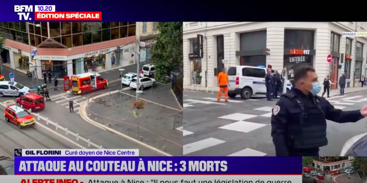 Attaque au couteau en plein cœur de Nice: ce que l'on sait