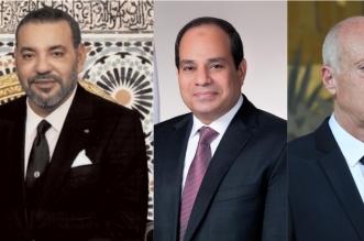 Messages d'Al-Sissi et Kaïs Saïed au roi Mohammed VI