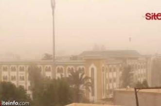 Vents poussiéreux et aveuglants s'abattent sur Settat (VIDEO)