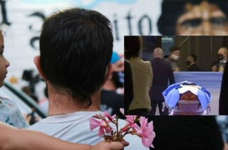 Grande émotion aux obsèques de Maradona (VIDEO)