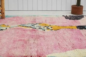 Un petit tapis fait le bonheur d'une orpheline d'Azilal