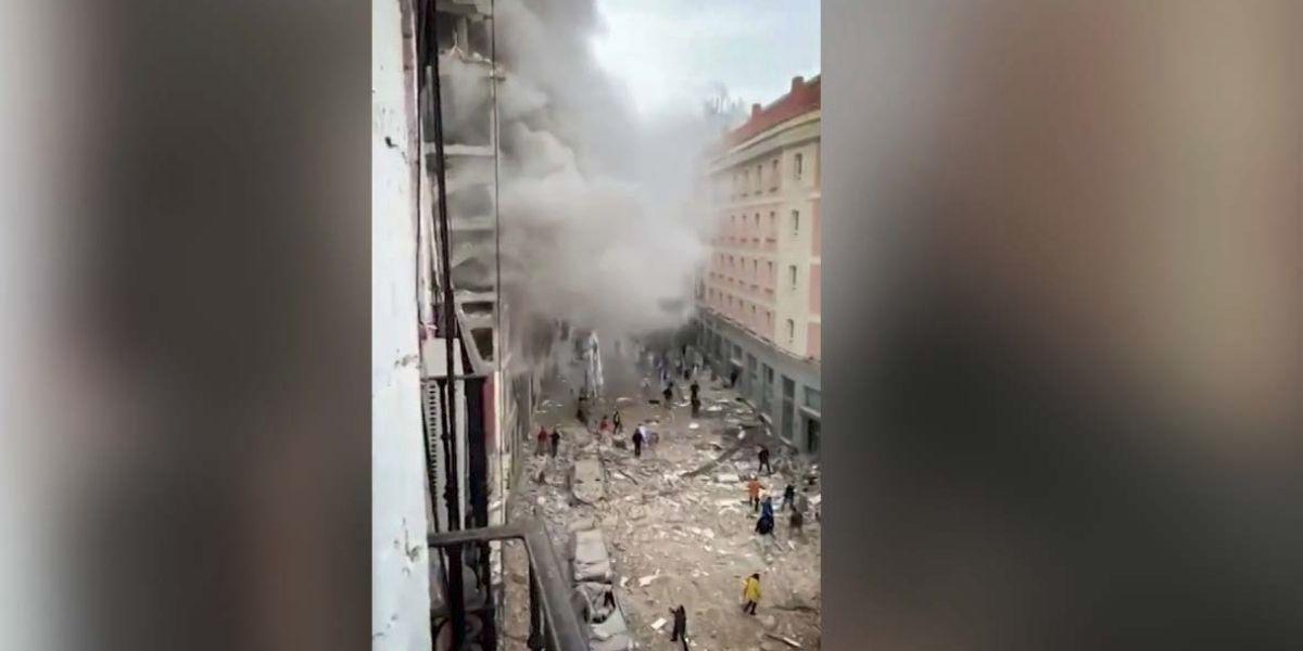 Une explosion dans un immeuble de Madrid fait deux morts