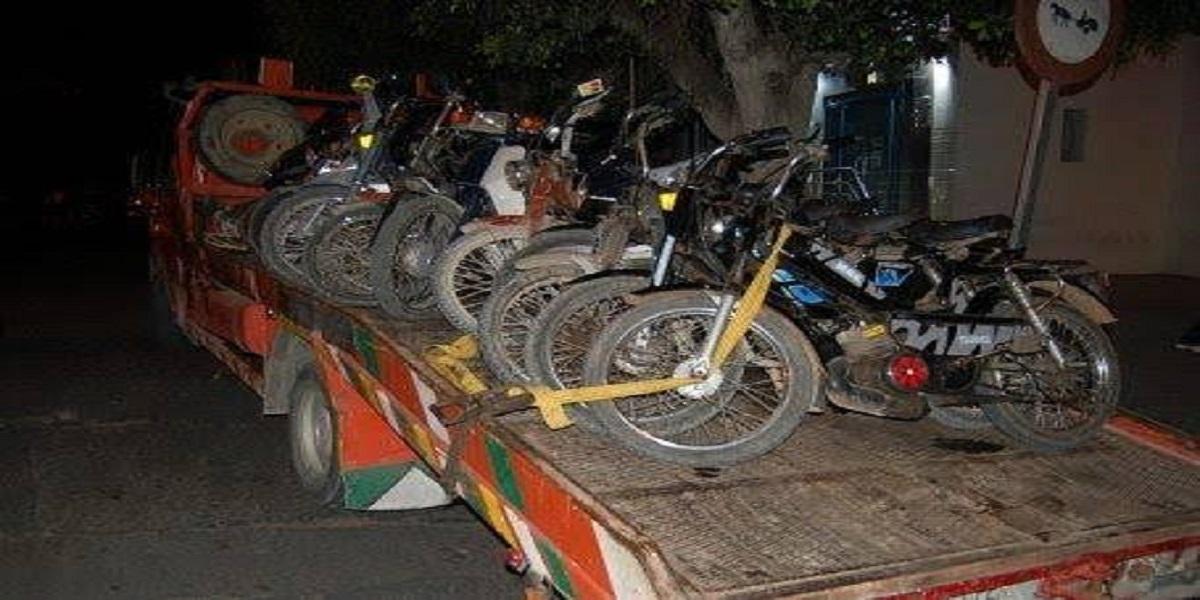 Rabat: les motocyclistes dans le collimateur des autorités