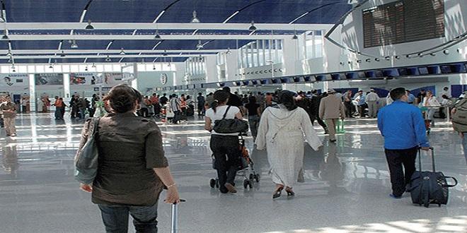 Le nombre de passagers qui ont regagné le Maroc du 15 au 21 juin (ONDA)