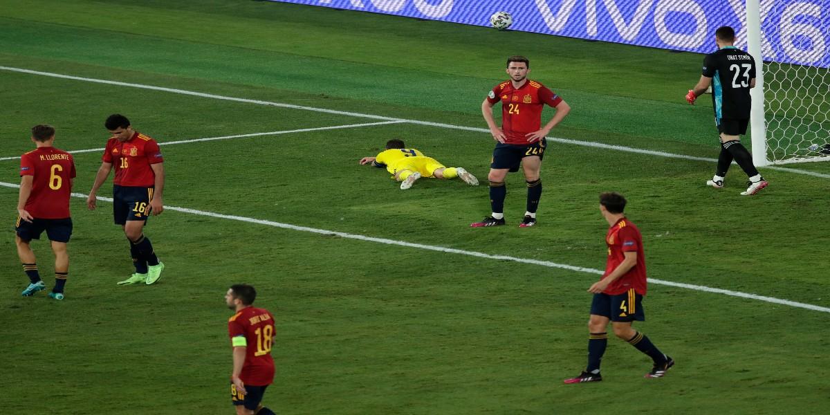 Euro-2021 : L'Espagne accrochée par la Pologne