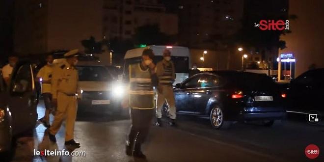 Couvre-feu à Tanger: les autorités intransigeantes (VIDEO)